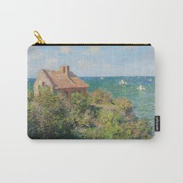 Fisherman's Cottage at Varengeville by Claude Monet Carry-All Pouch