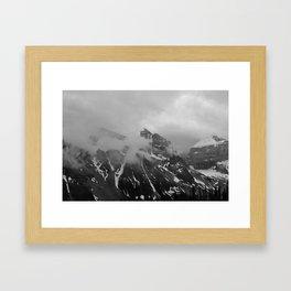 Farther Slopes: III Framed Art Print