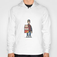 marty mcfly Hoodies featuring Marty by Sr.Pandita