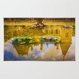 Magic pond Rug