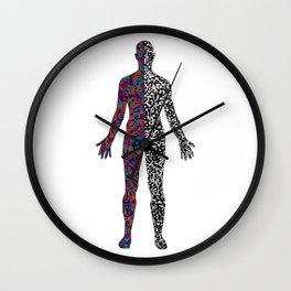 Human Experience Wall Clock