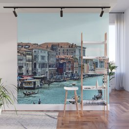 Along the Grand Canal Wall Mural