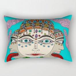 Goddess Of Wisdom Rectangular Pillow