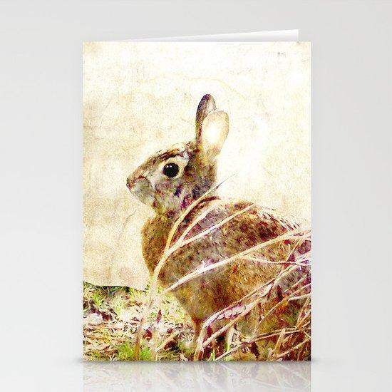 Spring Bunny Stationery Cards