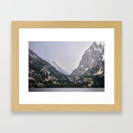 Grand Teton National Park, Wyoming. Framed Art Print