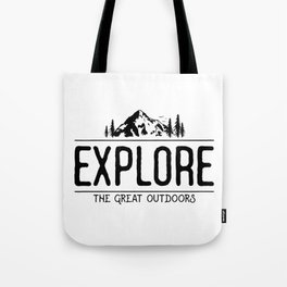 Explore the Great Outdoors Tote Bag