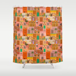 Marrakesh: The Red City Shower Curtain