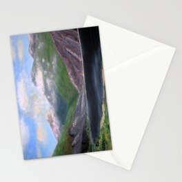 Isle of Rhum, original artwork, oils on board Stationery Cards