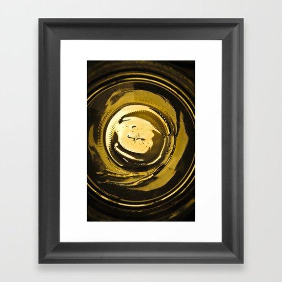 Honey jar Framed Art Print