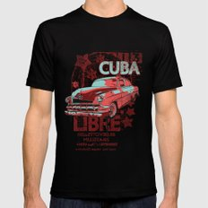 Cuba Libre Mens Fitted Tee SMALL Black