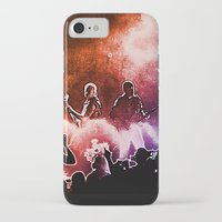 u2 iPhone & iPod Cases featuring U2 / Adam Clayton / The Edge by JR van Kampen