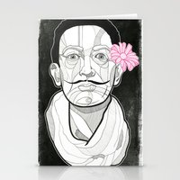 dali Stationery Cards featuring Dali by DonCarlos