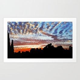 Sunset At Marbella Golf & Country Club Art Print