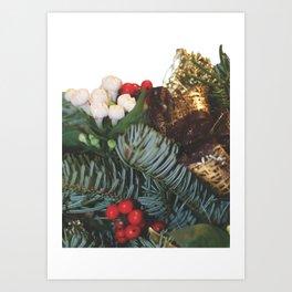 Pine bouquet 2 Art Print