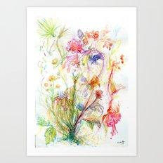 Floral Spree Art Print