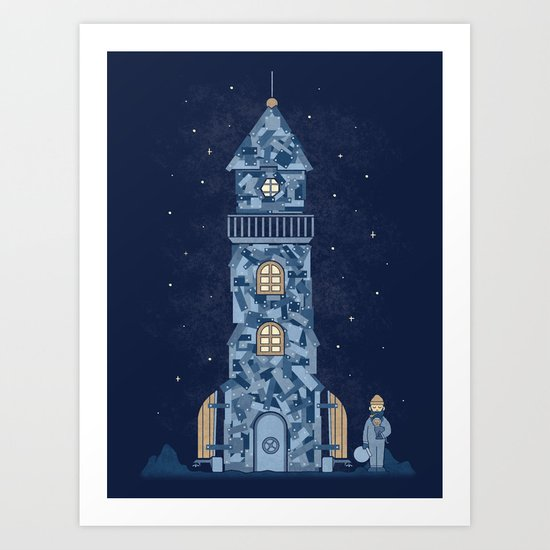 There Must Be More Than The Sea Art Print