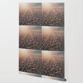 Footprints In The Desert Wallpaper