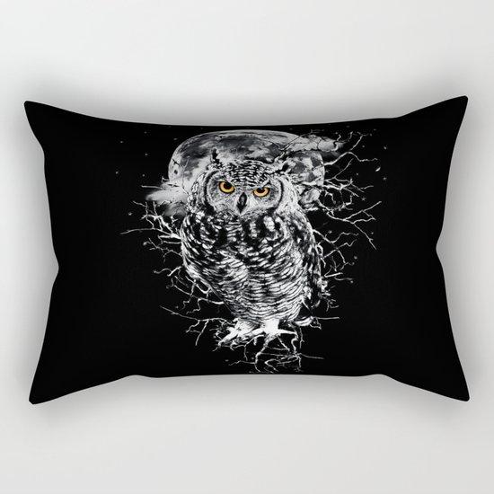 OWL BW II Rectangular Pillow