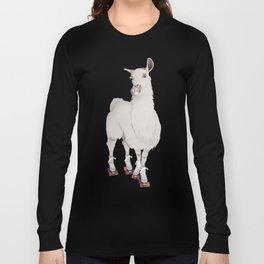 LLAMA IN L.A. Long Sleeve T-shirt