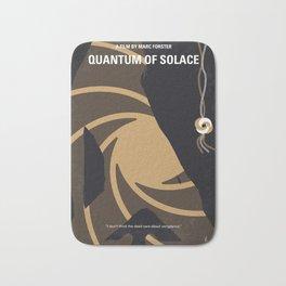No277-007-2 My Quantum of Solace minimal movie poster Bath Mat