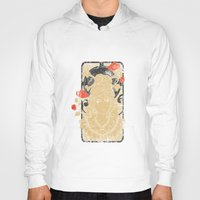 art nouveau Hoodies featuring Art Nouveau by Tshirt-Factory