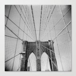 Brooklyn Bridge 01, Holga Canvas Print