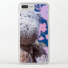 Dirty Hippo Clear iPhone Case