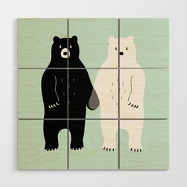 Gray Wood Wall Art