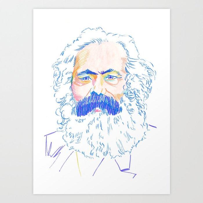 Marx Art Print