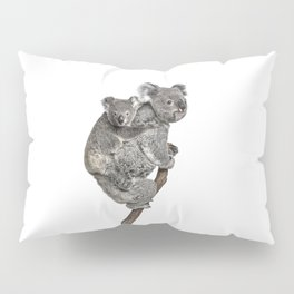 Mother Koala and her Baby Pillow Sham