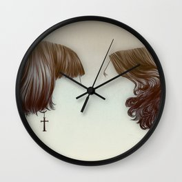 hairstyles Wall Clock
