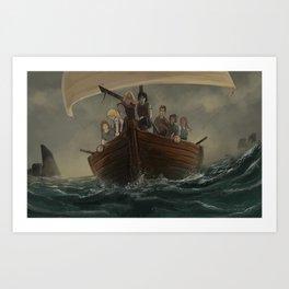 Seers Isle: Arrival Art Print