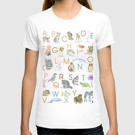 Animal Alphabet ABCs T-shirt