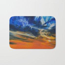 Blazing Sunset by Teresa Thompson Bath Mat