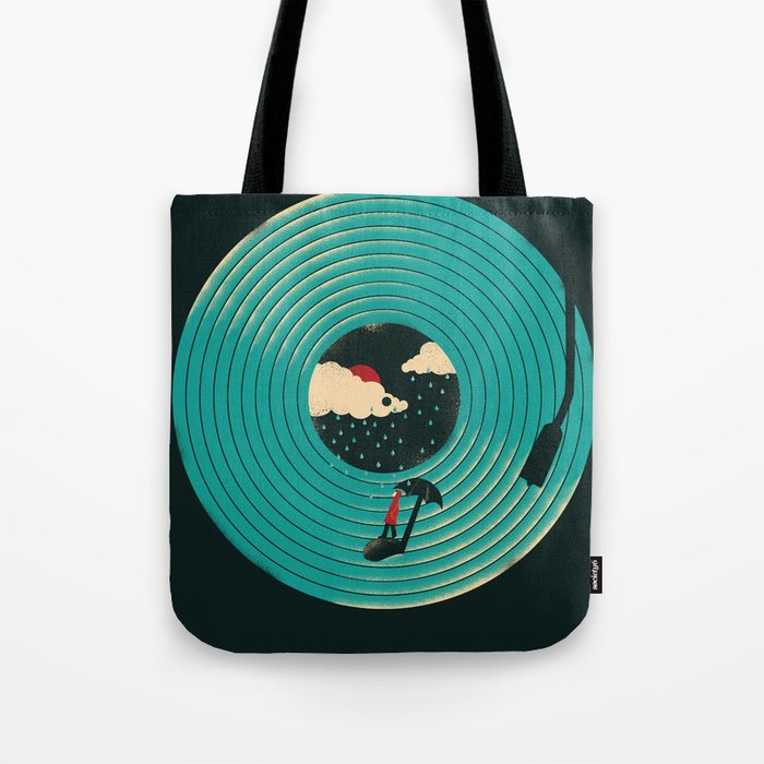 Songs for a Rainy Day Tote Bag