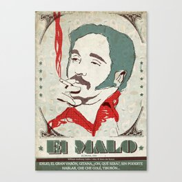 El Malo (Willie Colón) Canvas Print