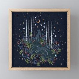 Midnight Exploration Framed Mini Art Print