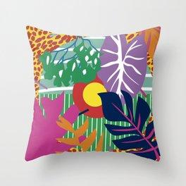 colorimetria botanica Throw Pillow