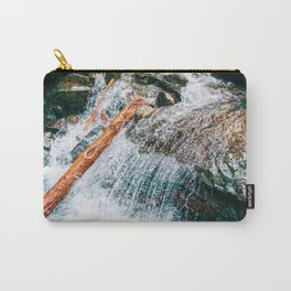 Creek bed in Squamish, Canada Carry-All Pouch