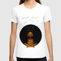 spiritual T-shirts featuring Spiritual AfroGirl by Pweety Sexxay