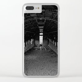 First Class Clear iPhone Case