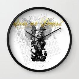 Quis ut Deus - Micha'el Wall Clock