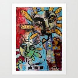 Curious Conjuring Art Print
