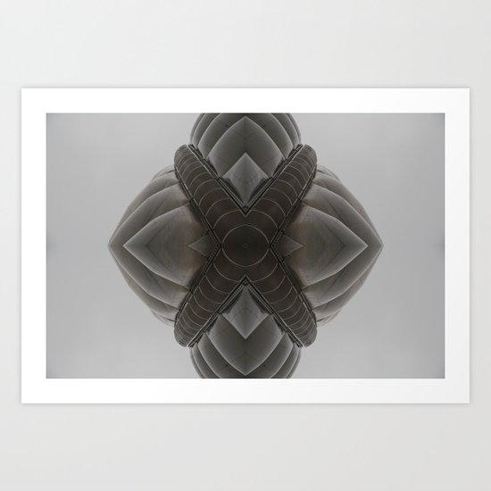 SDM 1011 (Symmetry Series) Art Print