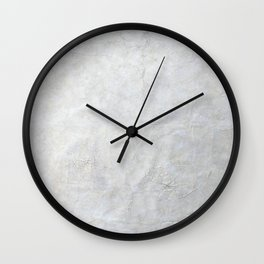 Neutral Crackle  - Perfect For Photo Backdrop Wall Clock