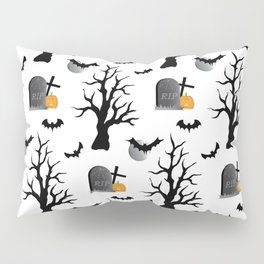 Haunted Graveyard Forest Pillow Sham