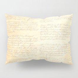 Jane Austens Letter to her sister Cassandra Pillow Sham