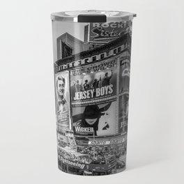 Times Square III Special Edition I (black & white) Travel Mug
