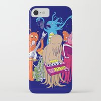 space jam iPhone & iPod Cases featuring Space Jam by Morbid Illusion