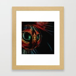 Cat's Eyes Crystal Ball Framed Art Print